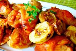 Домашняя курица вдуховке: техника приготовления сочной птицы