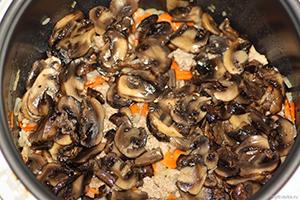 Как варить кашу в мультиварке: молочную, с грибами и со свининой