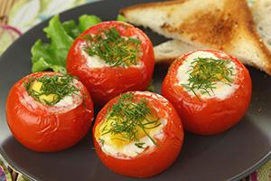 Яичница спомидорами: вкусно, красиво иоригинально