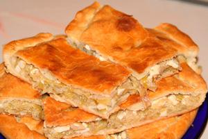 Пирог дрожжевой скапустой— 3беспроигрышных рецепта сяйцом имясом