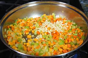 Рецепт каши из чечевицы в мультиварке с бараниной, курой и овощами